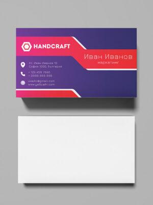 онлайн печат на визитки